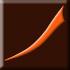 brązowy, matowy z pomarańczowym dekorem (E)